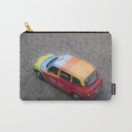 Scottish rainbow taxi Edinburgh Scotland Carry-All Pouch