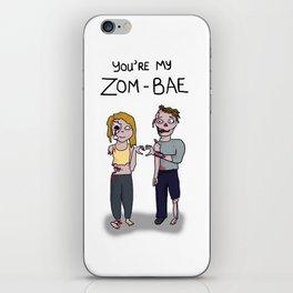 Zom-bae iPhone Skin
