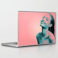 lightning Laptop & iPad Skins featuring Lightning by Grace Teaney Art