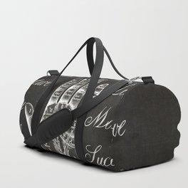 Vintage Palmistry Sign Duffle Bag