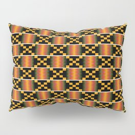 African Kente Pattern 3 Pillow Sham