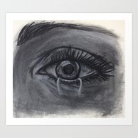evil eye Art Prints featuring Evil Eye by Hlm95