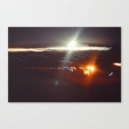 seismic Canvas Print