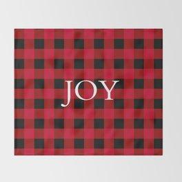 Joy Red Buffalo Check Throw Blanket