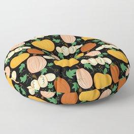 Magical Pumpkin Patch by Keyton Design Floor Pillow