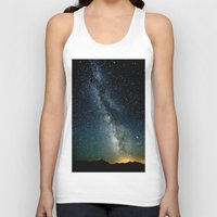 milky way Tank Tops featuring The Milky Way by 2sweet4words Designs