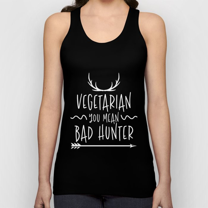 Hunting Hunter Hunting Papa Rifle Forest Unisex Tank Top