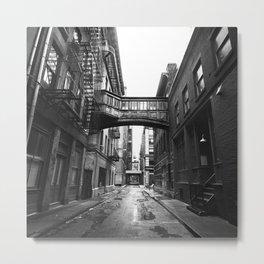 Staple Street Metal Print