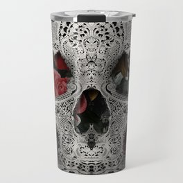 Lace Skull 2 Travel Mug