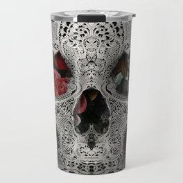 Lace Skull 2 Travel Mug