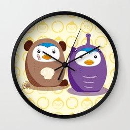 N°1 & N°2 - Disguise Team Wall Clock