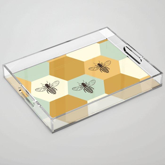 Beehive Acrylic Tray