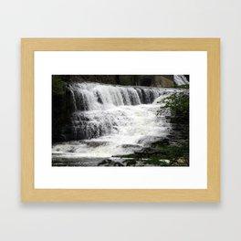 Ithaca Waterfall 1 Framed Art Print
