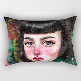 Beargirl Rectangular Pillow