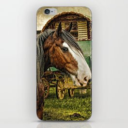 The Gypsy Vanner iPhone Skin