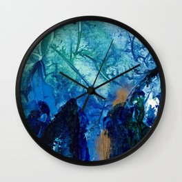 Sea Leaves, Tiny World Collection Wall Clock