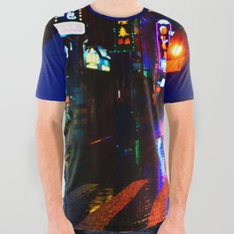 Shanghai 二 All Over Graphic Tee