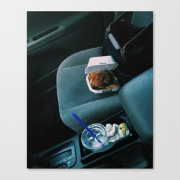 She Needs to Clean Her Car Canvas Print