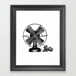 Fan 2 Framed Art Print