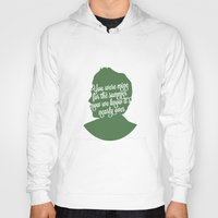 niall horan Hoodies featuring Niall Horan Silhouette  by Holly Ent
