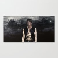 han solo Canvas Prints featuring Han Solo by Rafal Rola