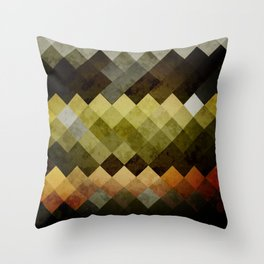 Abstract Cubes YBO Throw Pillow