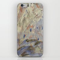anxiety iPhone & iPod Skins featuring Anxiety by Kali Thomas