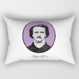 Authors - Edgar Allan Poe Rectangular Pillow
