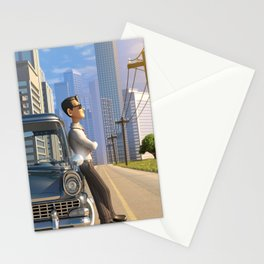 Luca's Day Off Stationery Cards