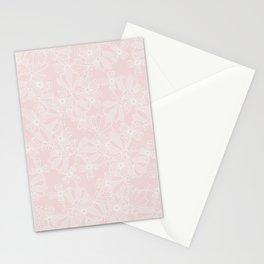 Blush Flowers Stationery Cards