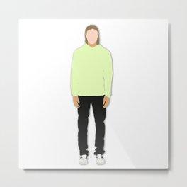 Off-White Men's Fashion Drawing/Illustration Metal Print