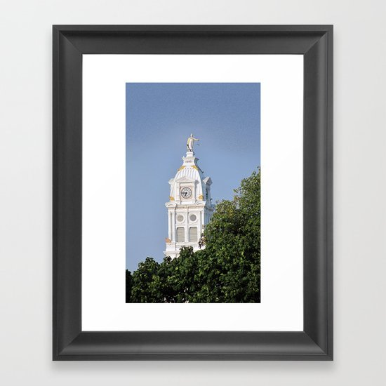 Henry County Courthouse (III) Framed Art Print