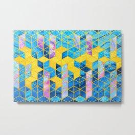 Geometric XXXXXX Metal Print