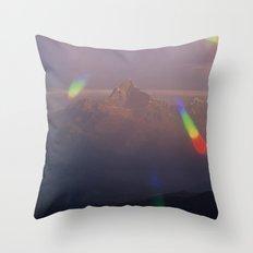 The Machapuchare Shine Throw Pillow