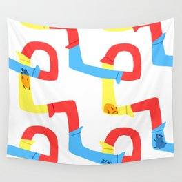 Hamster tube fun time Wall Tapestry