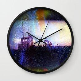 House Boat Wall Clock