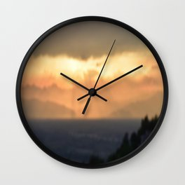 Torino Sunset Wall Clock