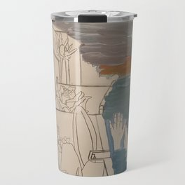men at sea Travel Mug