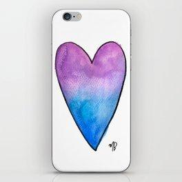 Violetblue iPhone Skin