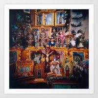 Panchito hazme el milagrito Art Print