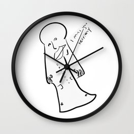 him Wall Clock