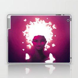 Luminescent Fuchsia Laptop & iPad Skin