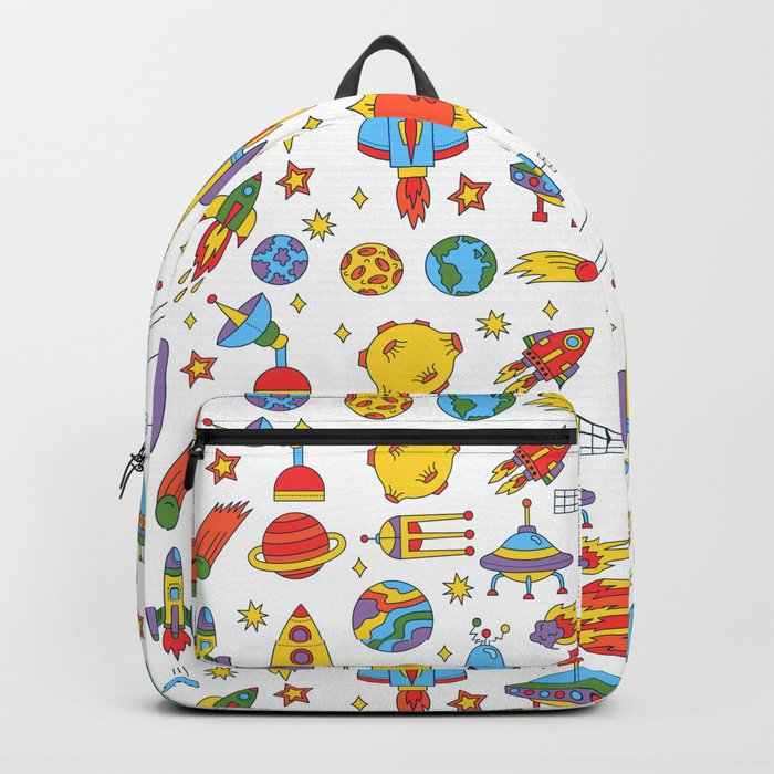 Outer space cosmos pattern Backpack