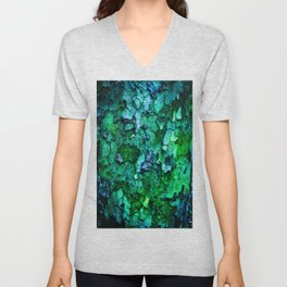 Underwater Wood 2 Unisex V-Neck
