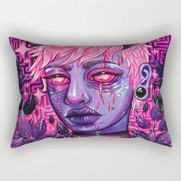 Demonic Soldier Rectangular Pillow