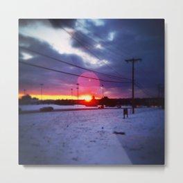sun glow Metal Print