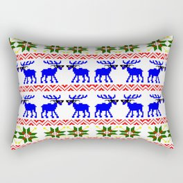 Ugly Sweater ( Deal With It ) Rectangular Pillow
