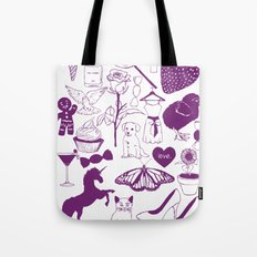 Sugar and spice and everything nice. Tote Bag