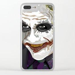 Joker Clear iPhone Case
