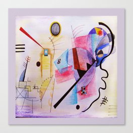 inspiration from Kandinsky . artwork Canvas Print